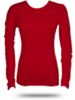 Bella Bel5001 Baby Rib Long Sleeve Crewneck Tee