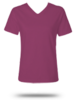 3587 LAT Ladies' V-Neck Tee