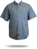 SP11 Port & Company Short Sleeve Value Denim