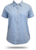 LSP11 Port & Company Ladies' Short Sleeve Value Denim