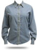 L600D Port Authority Ladies' Long Sleeve Denim
