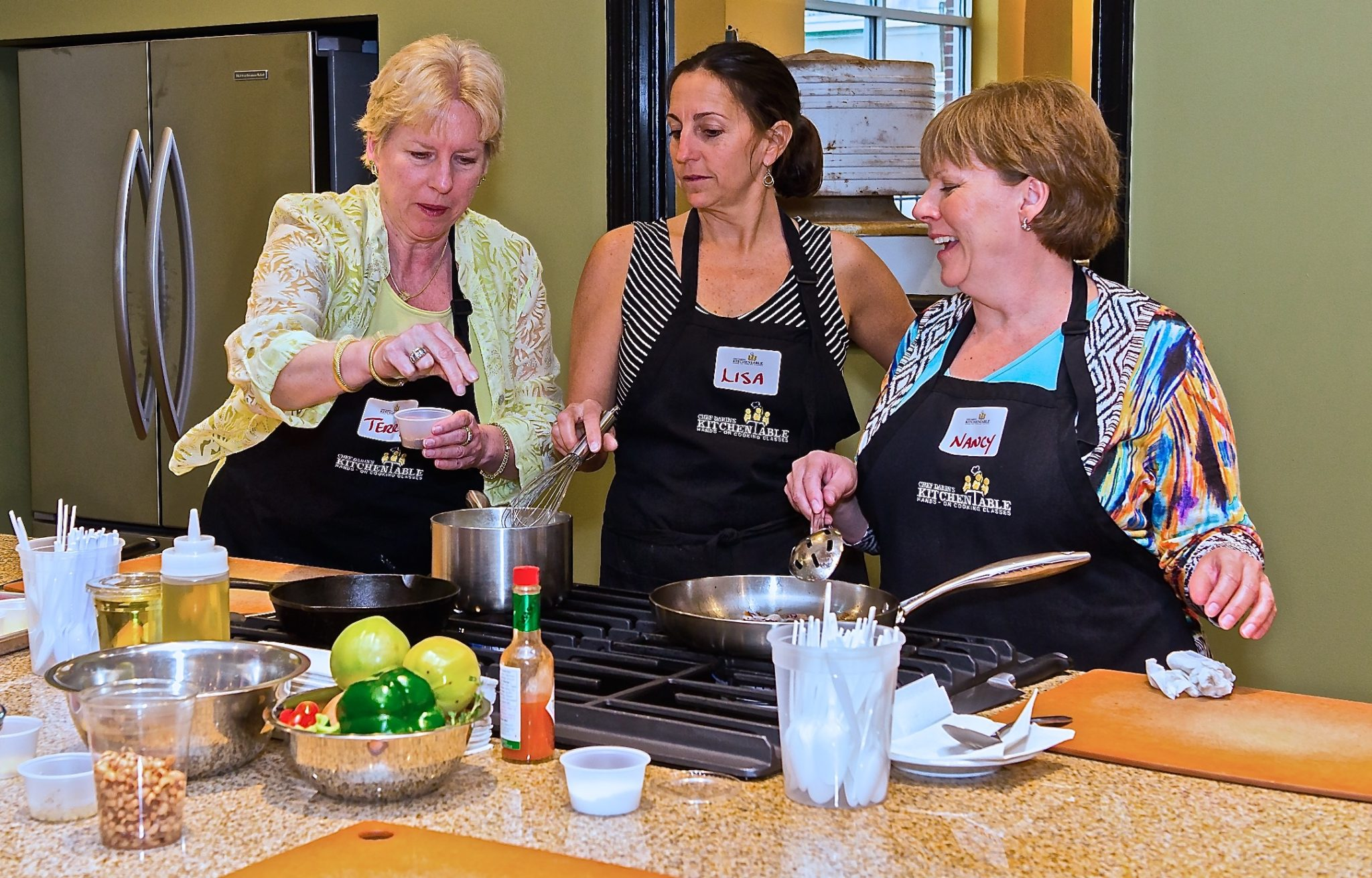 Get hands-on in cooking classes with Chef Darin in Savannah, GA