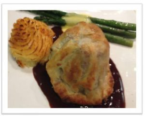 Classic Beef Wellington with Red Wine Sauce