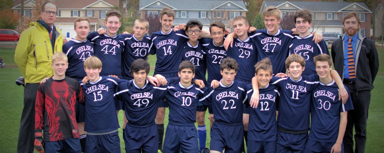 mens varsity soccer 2014-15