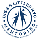 Bigs  littles nyc mentoring  logo with tagline
