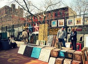Flea market image