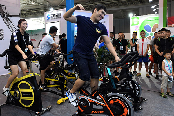 Body building boom energizes fitness industry in China[1]- Chinadaily.com.cn