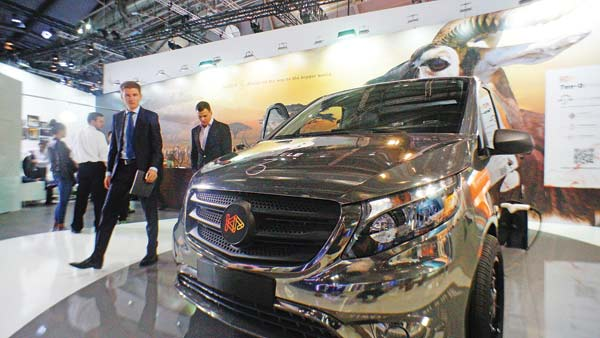 Automakers put new-energy cars in fast lane at Frankfurt – Business