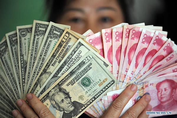 China's forex reserves rise for 8th straight month