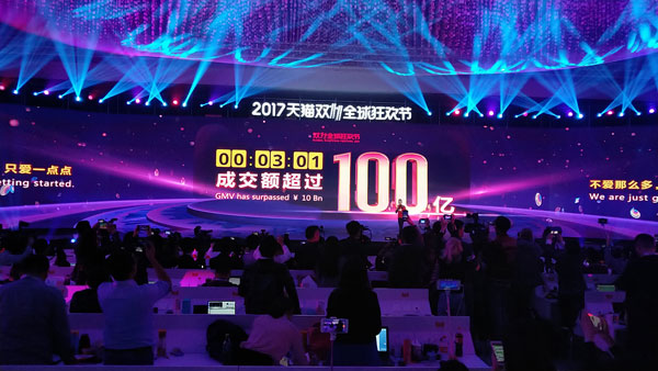 Alibaba sales race ahead on Singles Day – Business