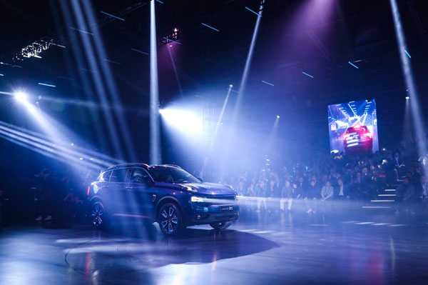 Geely's Lynk & Co launches new SUV in China[1]- Chinadaily.com.cn