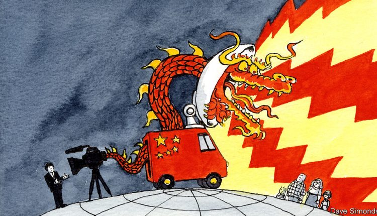 China is spending billions on its foreign-language media