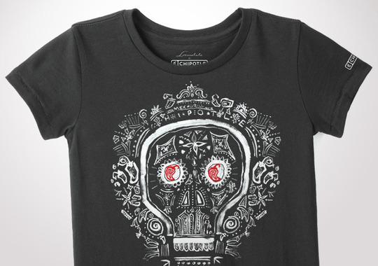 Chipotle Dia De Los Muertos Youth T-Shirt
