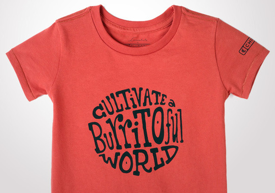 Chipotle Cultivate a Burritoful World Toddler T-Shirt