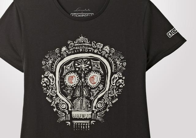 Chipotle Dia De los Muertos Women's T-Shirt