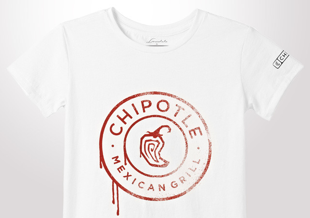 Chipotle Spray Medallion Youth T-Shirt