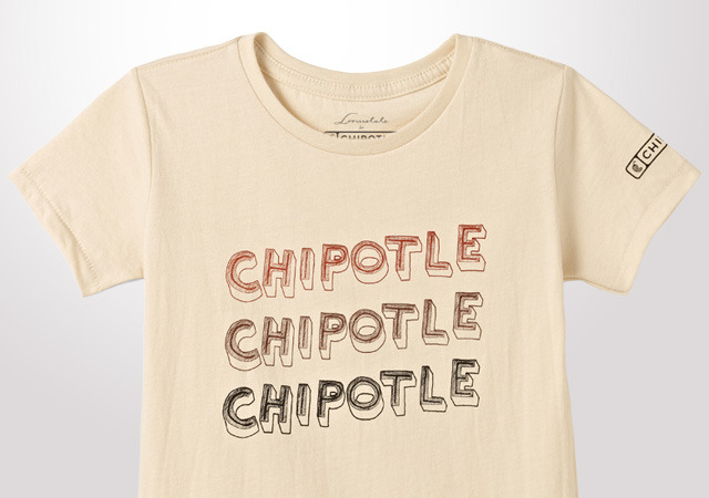 Chipotle Sketch Stack Youth T-Shirt
