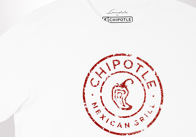 Distressed Chipotle Logo - Unisex