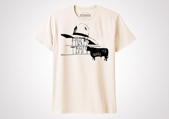 "Chipotle Farm Team ""Farm Daze"" Unisex T Shirt - Natural"