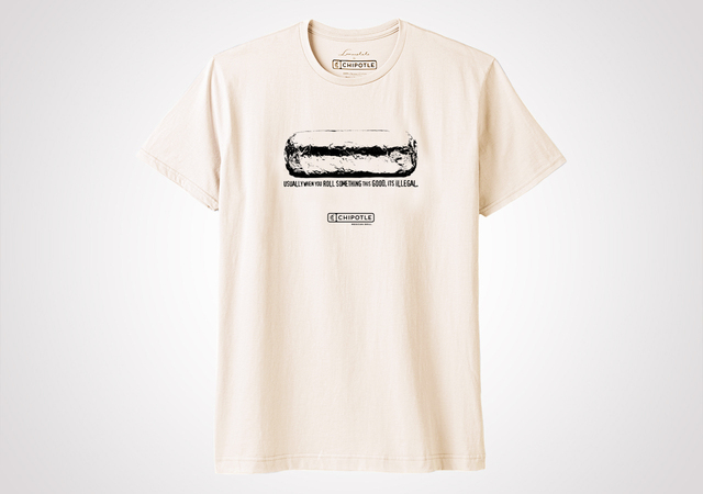 "Chipotle Farm Team ""Illegal"" Unisex T Shirt - Natural"