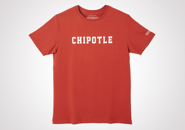 Chipotle 70's Sport Logo Tee - Roasted Red