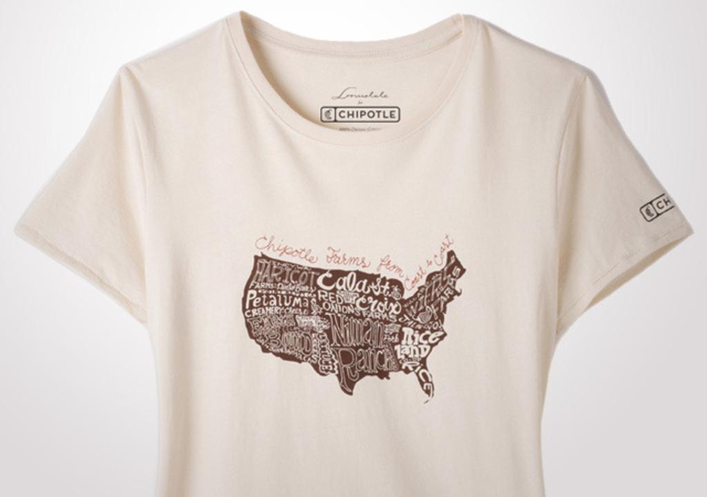 Chipotle Farms Across The USA Women's T-Shirt