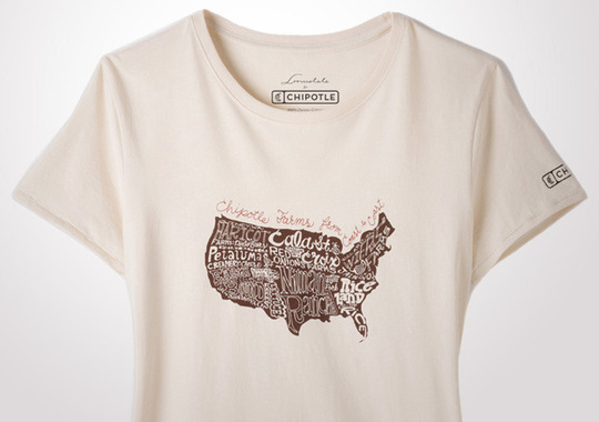 Chipotle Farms Across The USA Women's T-Shirt