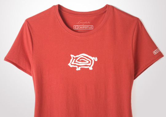 Chipotle Little Piggy Women's Tee