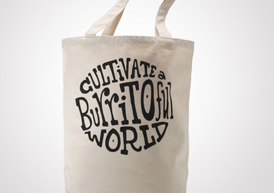 Chipotle Cultivate a Burritoful World Grocery Tote