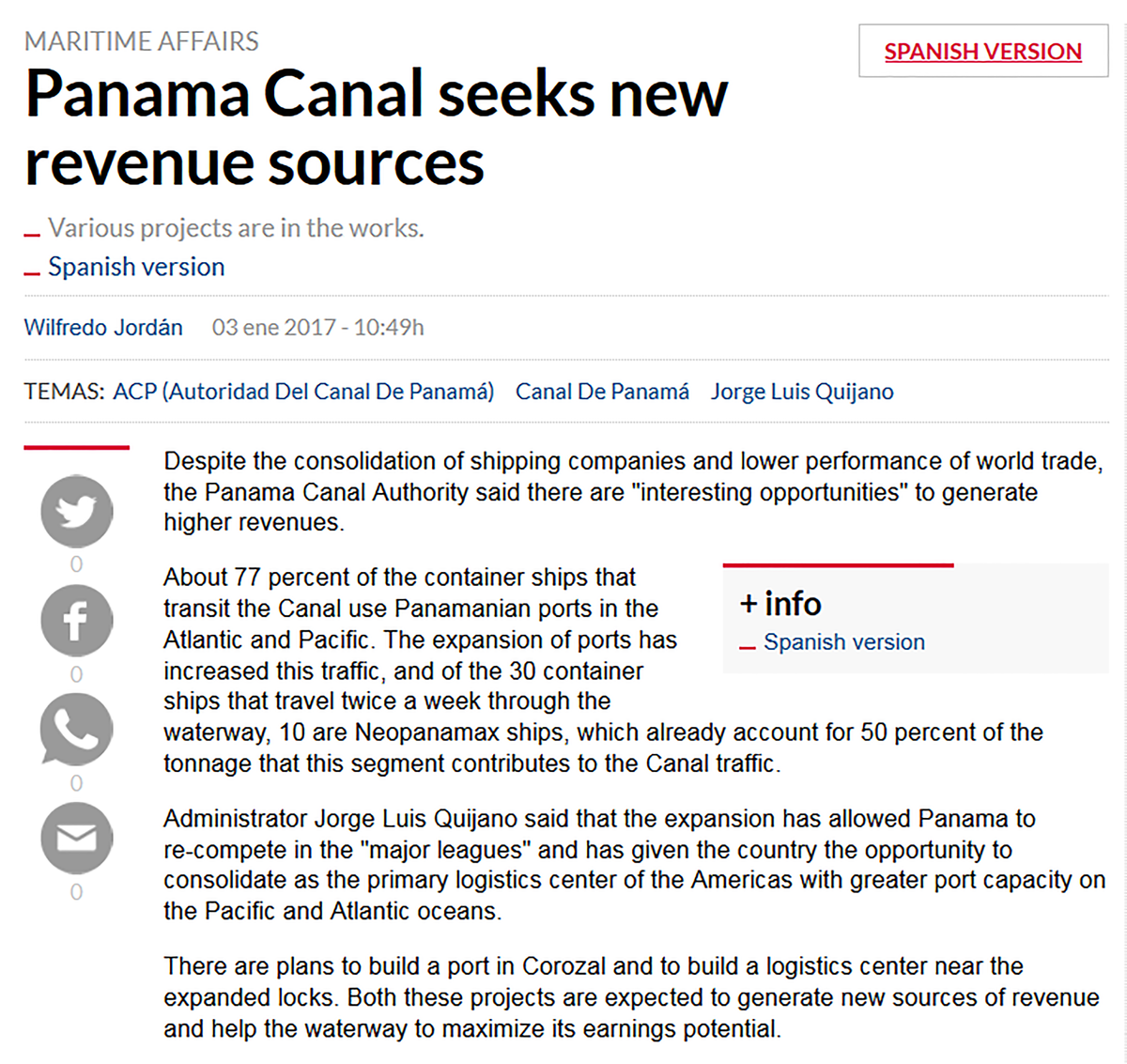 Panama Canal Ops Post Expansion Inauguration Non Process Flow Diagram Screenshot 2017 01 03 143436