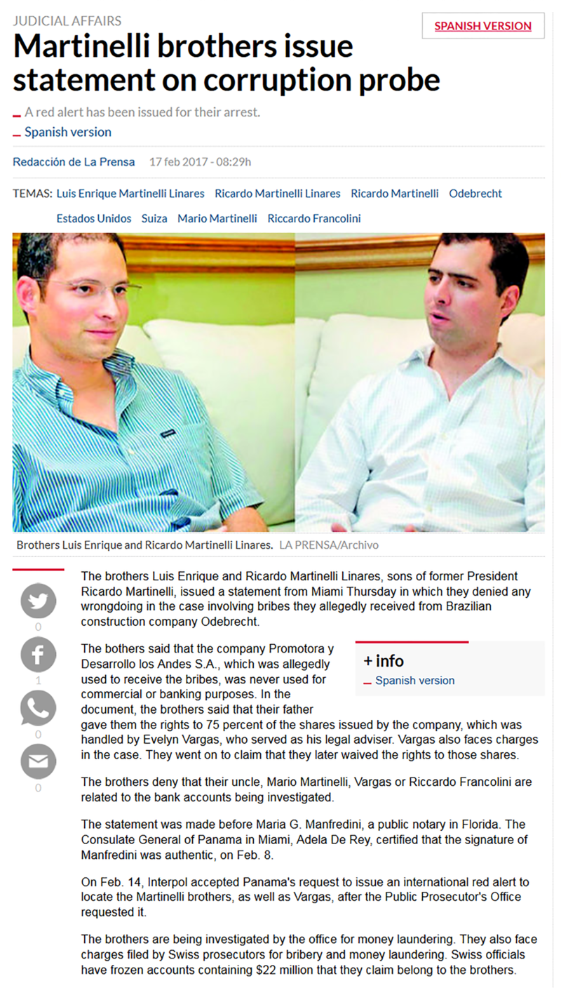 Martinelli Brothers Issue Statement Re Corruption Probe.png