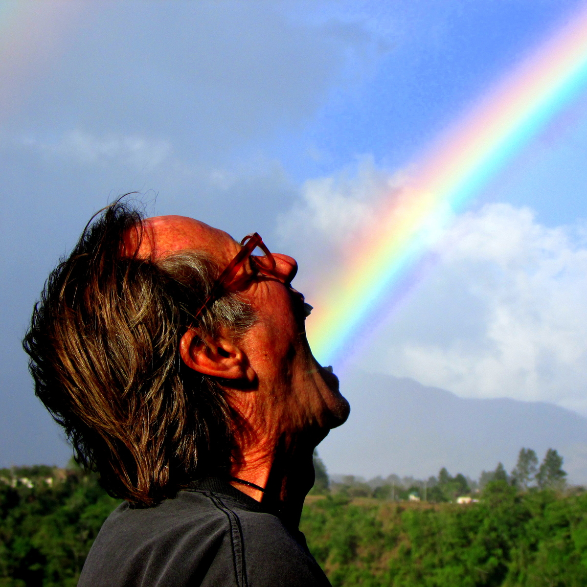 Bill's swallowing up all the rainbows !