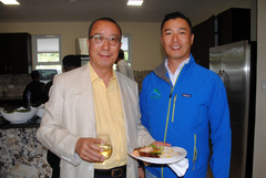 Mr. Miguel Lee Chang and Miguel Lee (General Manager and Project Manager of Alto Boquete Condos)