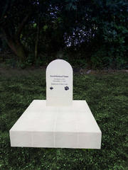 Ceramic Covered & Sandblasted Headstone