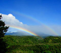 Double rainbow over Baru