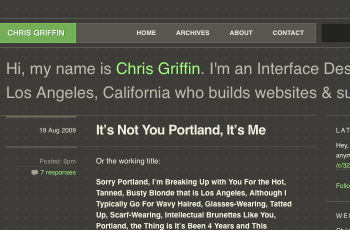 Chrisgriffin-website