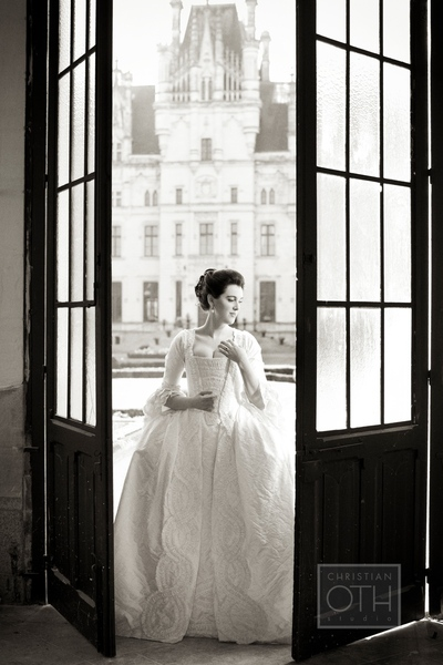 bride in doorway - Shawn Connell of Christian Oth Studio