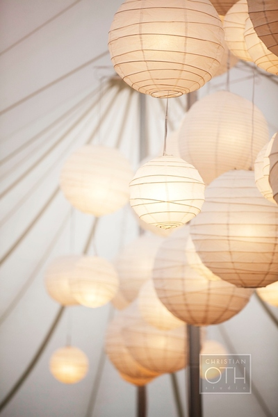 lights in tent - Glen Allsop of Christian Oth Studio