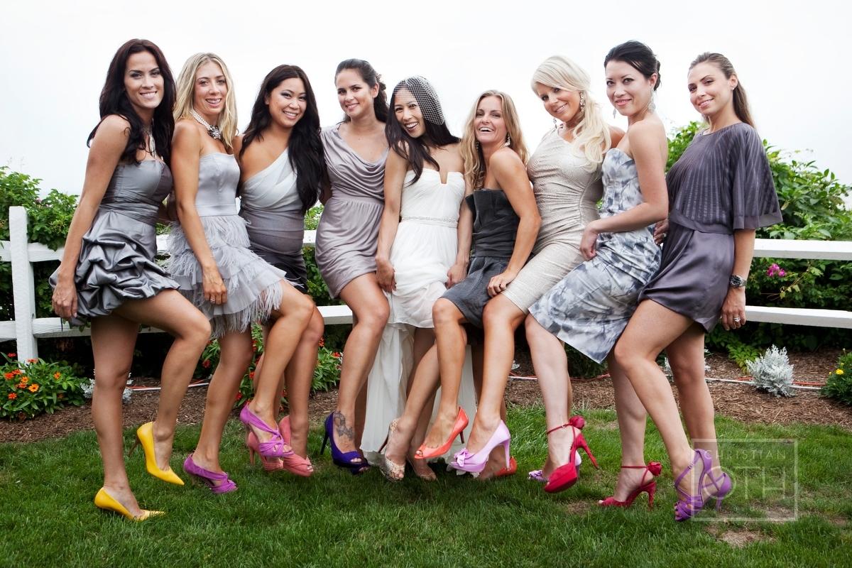 Loving mismatched bridesmaid dresses something borrowed ombrellifo Choice Image