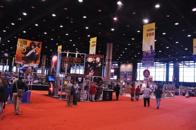 C2E2 Exhibit Hall