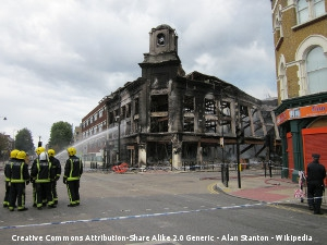 British Store Destroyed