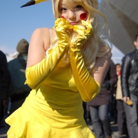 Japanese Pikachu Cosplay