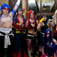 Cosplayers at Anime Midwest 2012