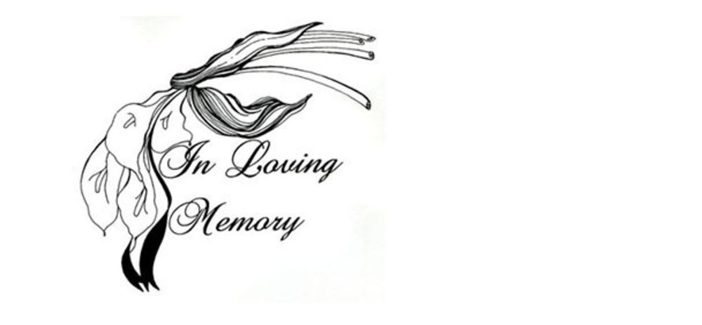 In loving memory slide