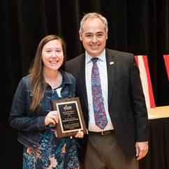 Members of the college recognized for outstanding achievement