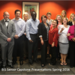 BIS Seniors Present Final Projects on December 15