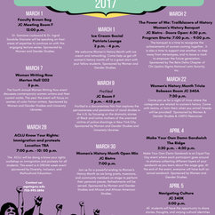March is Women's History Month, Check Out Our Calendar of Events