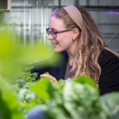 Volunteering on campus led to discovering her passion: Farming