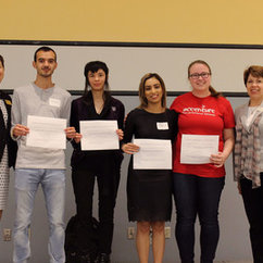 Azam honored for Outstanding Presentation at Undergraduate Research Symposium