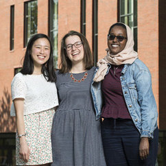 Students from the college pick from coveted scholarships to study abroad